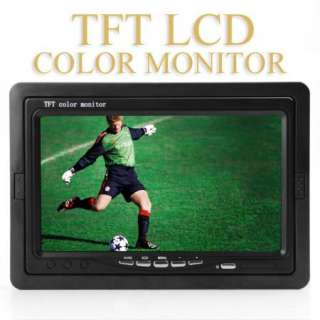 inch Car TFT LCD Full Color Monitor for DVD GPS