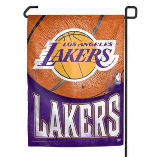 LOS ANGELES LAKERS NBA BASKETBALL GARDEN FLAG BANNER