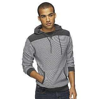 Mens Stripe Hooded Sweater  UK Style by French Connection Clothing
