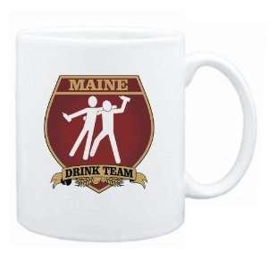 Maine Drink Team Sign   Drunks Shield  Mug State