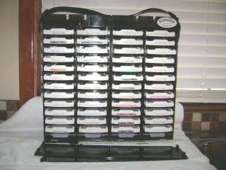 Stampin Up Huge Lot Of 48 Ink Pads & PortaInk Pad Holder G/U Excellent