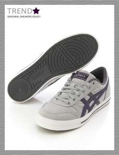 Brand New ASICS AARON CV Grey Shoes High Rise/Grape #36