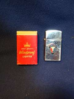 Army Weapons Command. Vintage Viet Nam era cigarette lighter
