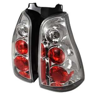 03 05 TOYOTA 4RUNNER CHROME CLEAR ALTEZZA TAIL LIGHTS