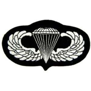 U.S. Army Paratrooper Wings Patch Black & White 3 Patio