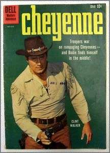 Cheyenne, Clint Walker, Dell Comic #14 Feb   March 1960