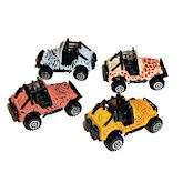 RTD Auctions   24 Jungle Safari Zoo Animal Die Cast Jeep