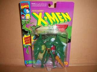 MARVEL COMICS X MEN SAURON ACTION FIGURE 1994 TOY BIZ 5 MUTANT