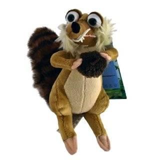 Ice Age 3 Squirrel SCRAT Plush NWT Cute 6 100%