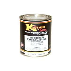Kustom Shop KC310 QT 2K Super Flo PolyU Clear Prt A High