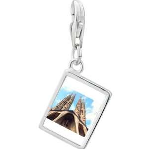 Pugster 925 Sterling Silver Gold Plated Landmark Gothic Architecture
