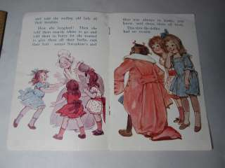 RARE 1920 Black African American Doll Story Book