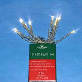 DDI 10 Light Battery Operated Mini Led Clear Light Se(Pack of 96) at