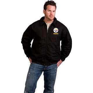 Pittsburgh Steelers Outerwear Reebok Pittsburgh Steelers Saginaw Heavy