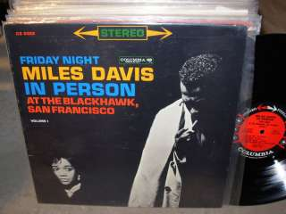 MILES DAVIS in person vol.1   columbia 6 eye   stereo
