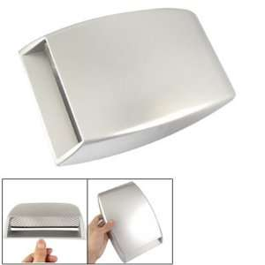 Silver Tone Plated Plastic Air Flow Vent Hood Scoop Decor for Auto Car