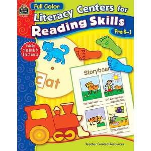 LIT CENTER FOR READING SKILLS PK 1: Toys & Games