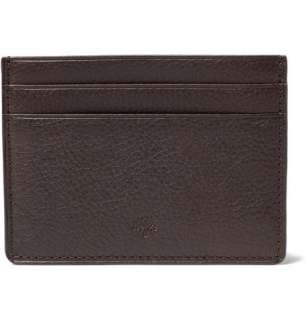 Accessories  Wallets  Cardholders  Leather Credit Card Slip