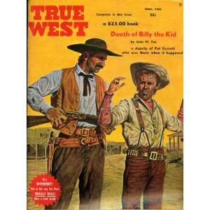 True West May  June 1962 Vol. 9 No. 5 Whole No. 51: Joe