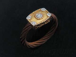 NEW CHARRIOL CELTIC CLASSIQUE RING 18K GOLD SIZE 6.5 02 55 4015 11