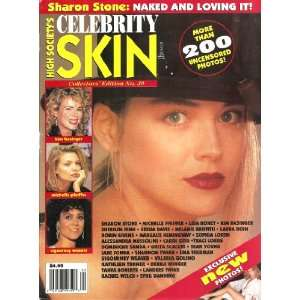 Skin Magazine #20 Kim Bassinger, sharon stone, traci lords: Books