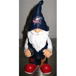 NHL Columbus Blue Jackets Garden Gnome Sports & Outdoors