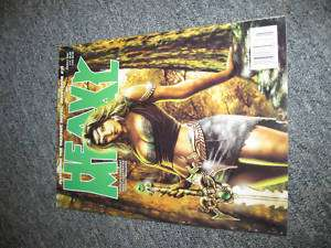 Heavy Metal Magazine March 2007 Vol.31 No.1 BRAND NEW |