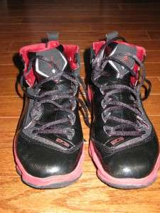 NIKE AIR JORDAN JUMPMAN ELITE I MENS BASKETBALL SHOES BLACK RED SIZE 9