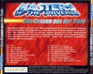 MASTERS OF THE UNIVERSE CD~MOTU~HE MAN~DAS GRAUEN AUS DER TIEFE~RAR