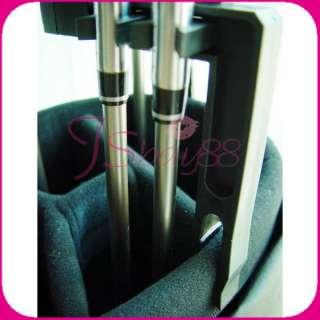 Portable Travel 9 Slots Golf Iron Club Shafts Holder Accessories
