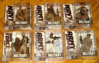 MCFARLANE MILITARY COLLECTION SERIES VARIANT SNIPER SPECIAL FORCES