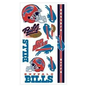Buffalo Bills NFL Football Team Temporary Tattoos  Sports