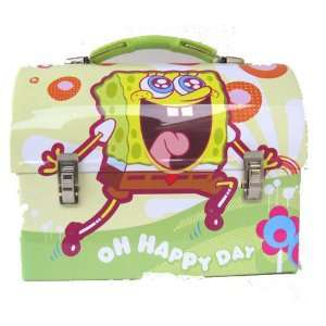 Squarepants Happy Days Dome Metal Tin Lunch Box