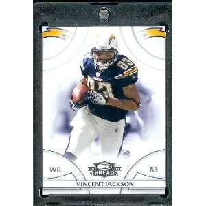 Jackson WR   San Diego Chargers   NFL Trading Card