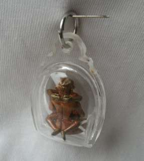 blessed Yab Yum tantric Amulet and a Pha Yant