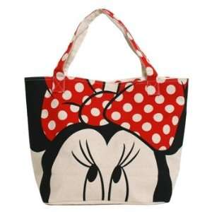 Tote Bag   Disney   Minnie Mouse Hand Bag Dot Bow