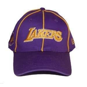 New Flex Fit New Era Los Angeles Lakers Hat Cap   Purple