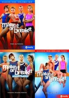 MAKE IT OR BREAK IT VOLUMES 1 3 New 6 DVD 1 2 3 Season 1 + Season 2