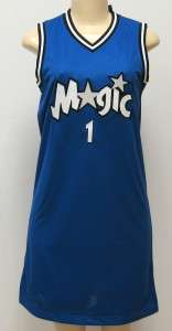NEW AUTHENTIC LADIES ORLANDO MAGIC #1 JERSEY DRESS
