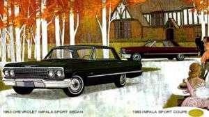 1963 CHEVROLET IMPALA ~ SPORT SEDAN AND SPORT COUPE