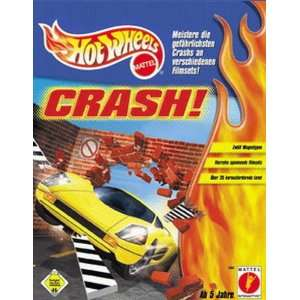 Hot Wheels Crash PC CD explosive cars destruction game