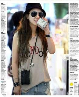 Girls Black knit Style Zip Cell Phone Shoulder Bag Case