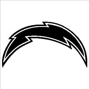San Diego Chargers 24 inch Window Stickers Decals NFL