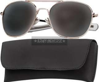 Military 52mm Pilots US Air Force Aviator Sunglasses