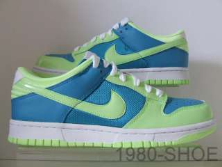 Womens Nike Dunk Low Green Turquoise Trainers Vandal |