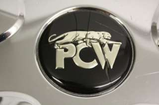 PCW PANTHER WHEEL CHROME CENTER CAP EMR 165 USED