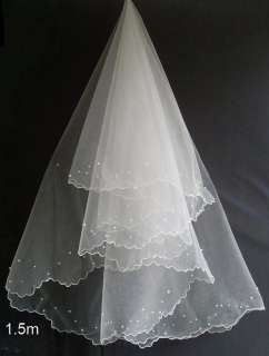 ivory lace/organza Empire line wedding bridal dress gown custom