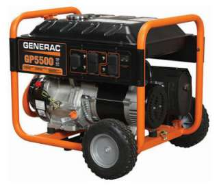 Generac GP Series 5500/6875 Watt Portable Electric Generator With