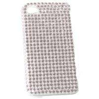 WHITE BLING DIAMOND CRYSTAL CASE FOR APPLE iPHONE 4 4G