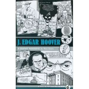 Edgar Hoover A Graphic Biography  Rick Geary Englische